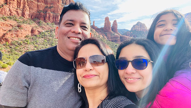 Meet the Anand Family