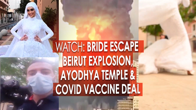 WATCH: Bride Poses during Beirut Explosion, Ayodhya, Building the Third Largest Hindu Temple in the World