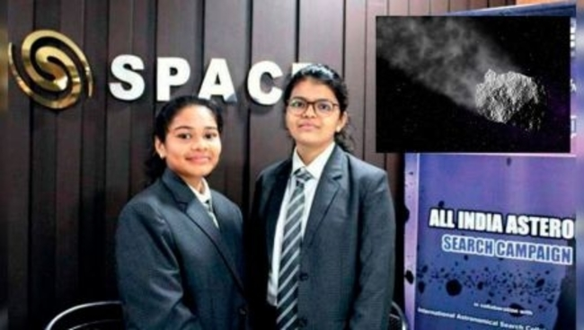 2 female high school students from India discover Earth bound asteroid