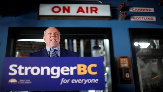 Partisan 'acrimony' spurred election call: Horgan