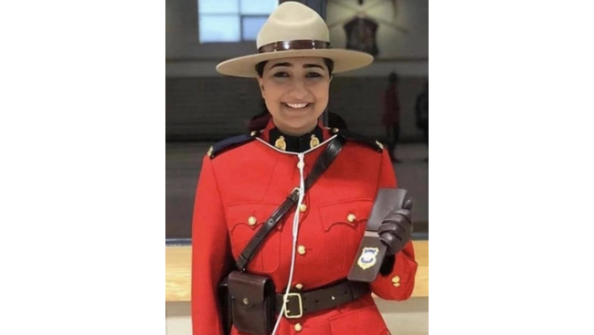 Richmond RCMP mourns the loss of one of its most dedicated force members Constable Jasmine Thiara