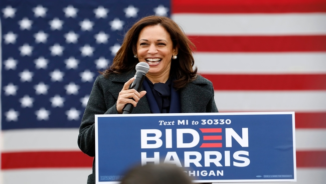 Kamala Harris becomes the first woman of South Asian and Black heritage to become Vice President  of the United States