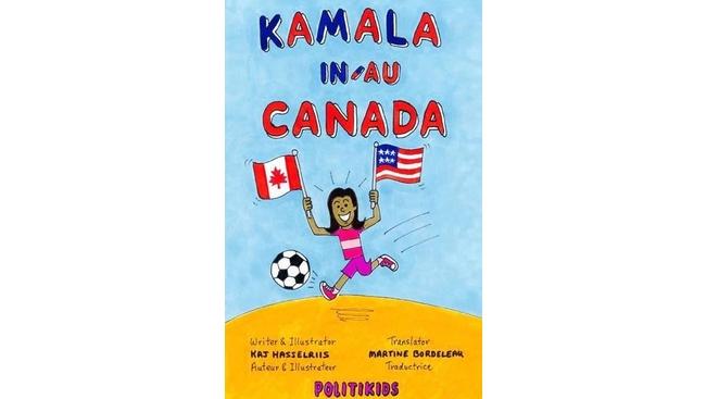 Comic looks at life of Kamala Harris in Canada