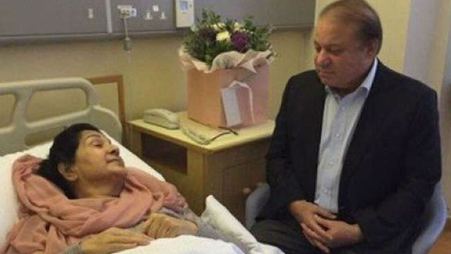 Jailed Pakistan Prime Minister Nawaz Sharif's Ailing Wife Dies In London