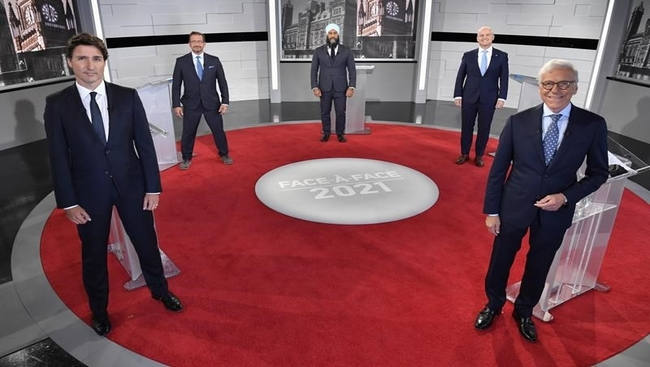 Leaders face two pivotal debates, French tonight