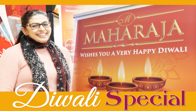WATCH: What is Diwali without Sweets? We visited the very popular Maharaja Catering to see what's special during this Diwali.