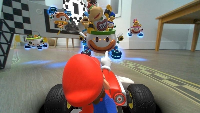 How to turn your home into a Mario Kart racetrack