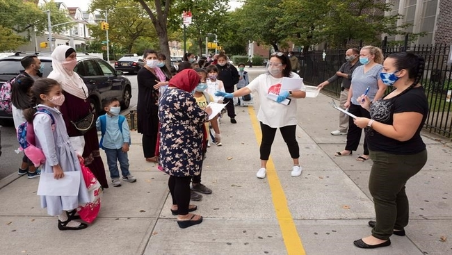 NYC elementary schools reopen in big back-to-school test