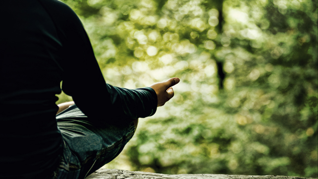 Create your own meditation corner at home