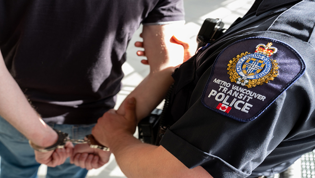 Man Arrested and Charged in Series of Violent Assaults: Metro Vancouver Transit Police