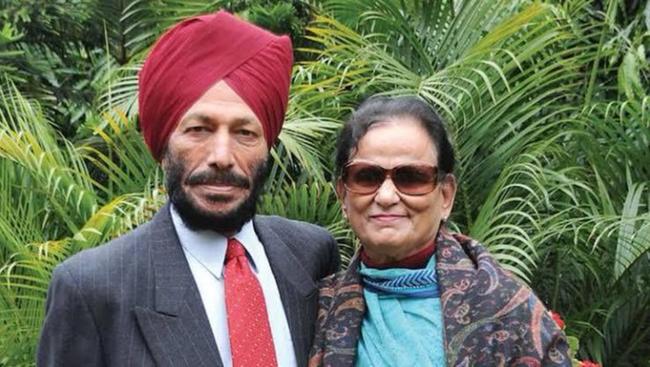 Wife of legendary athlete Milkha Singh passes away