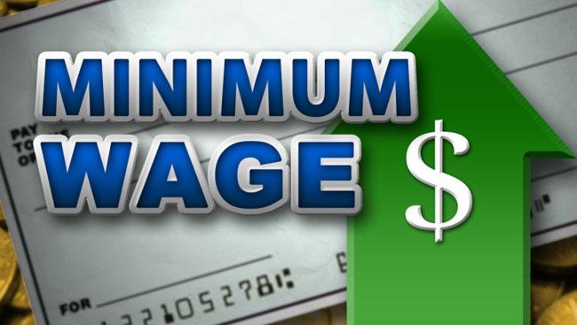 Minimum wage of $15.20 to take effect tomorrow