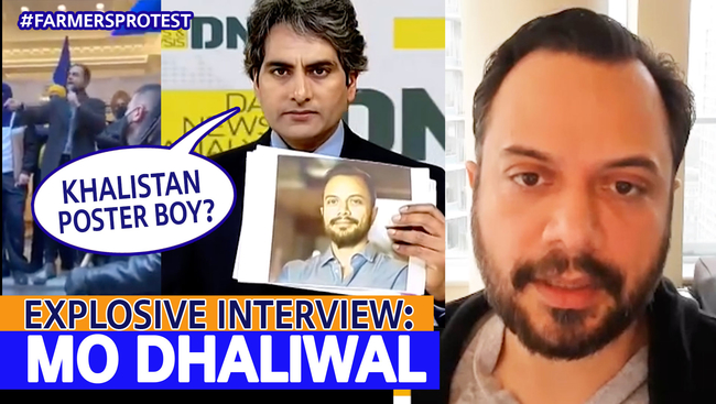 WATCH: Mo Dhaliwal - Indian Media's Poster-boy for Khalistan