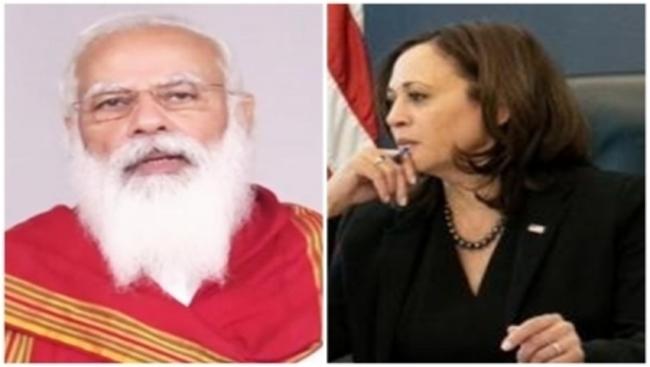 US sending Covid vaccines to India, Harris tells Modi (Ld)