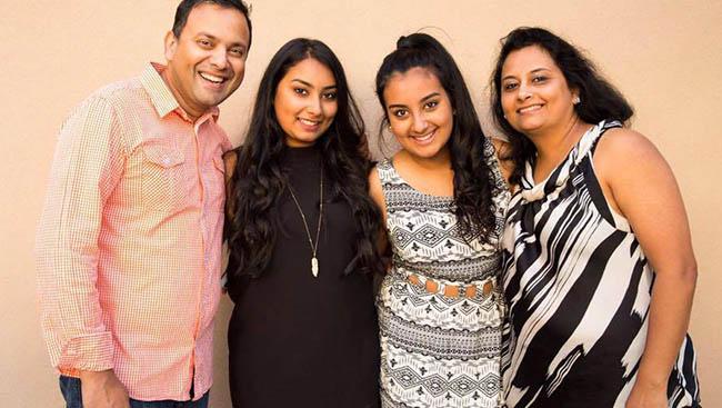Meet the Nair Family