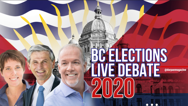 WATCH: Debate Night in BC-You decide who you will vote for on October 24th