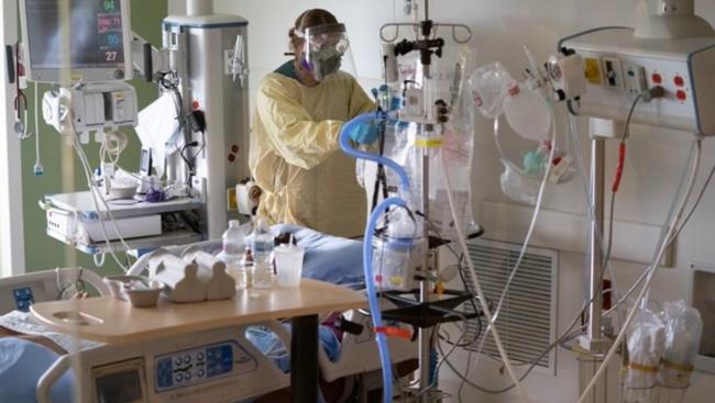 Estimated cost of COVID patient in ICU: $50,000
