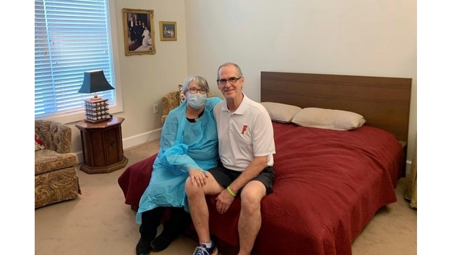Can I get a job? Wife tries it all for nursing home reunion