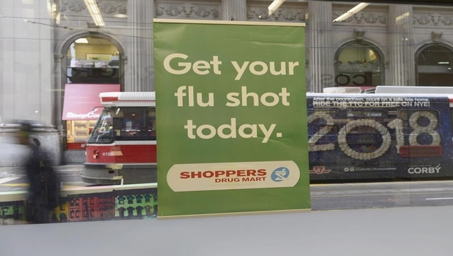 Ontario pediatricians warn of flu shot 'crisis'