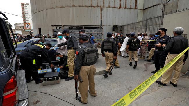 Terrorist attack on the Pakistan Stock Exchange in Karachi on Monday leaves multiple dead