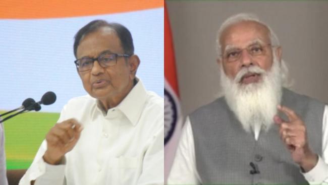 Modi govt responsible for high inflation, fuel price hike: Chidambaram