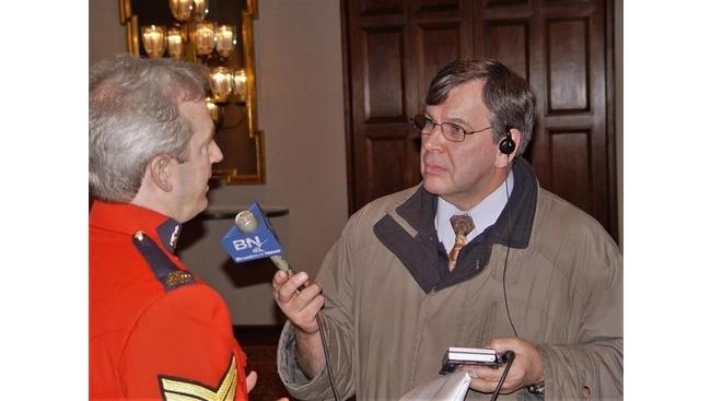 Veteran broadcast journalist Peter Ray dies