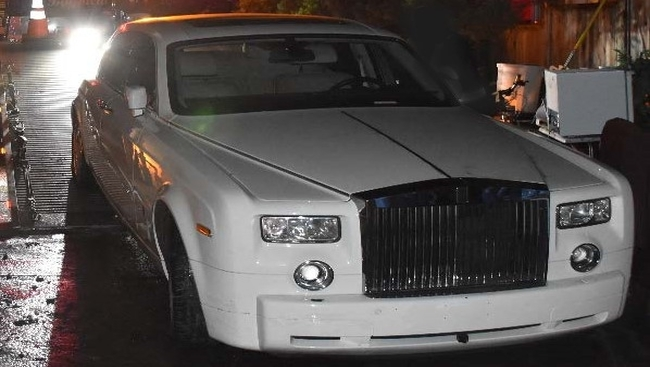 Stolen Rolls Royce Phantom found in White Rock