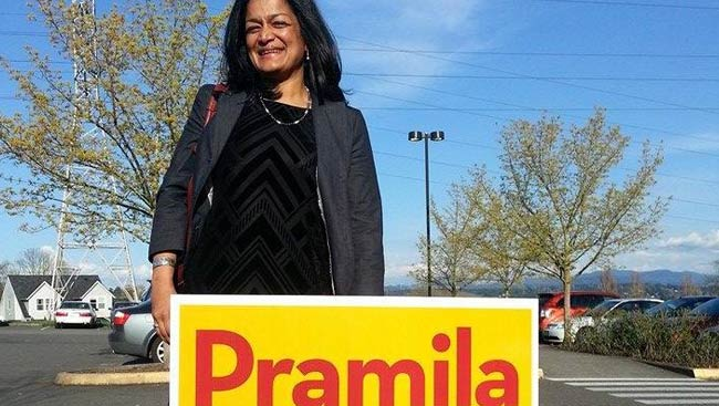 Pramila Jayapal is 1st South Asian American woman to chair US House