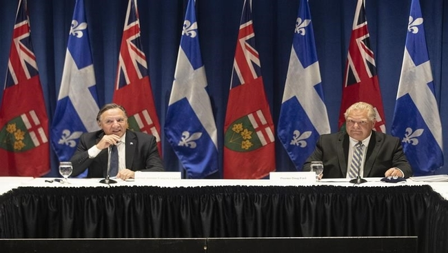 Premiers issue wish list for federal throne speech