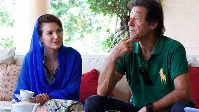 Reham Khan Slams Imran, Alleges 'Deal' On Kashmir