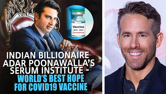 India: World's Hope to Produce Enough Covid Vaccine | Deadpool To Educate Youth on Social Distancing
