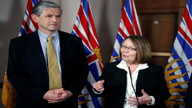 B.C. Liberals name Shirley Bond interim leader