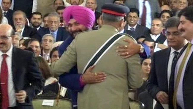 Navjot Singh Sidhu Talks Of Message From 'Friend' 2 Weeks After Pak Visit