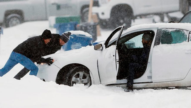 Strong Winds, Snow, Arctic Freeze, Prompt Travel Warnings, Woes, In West