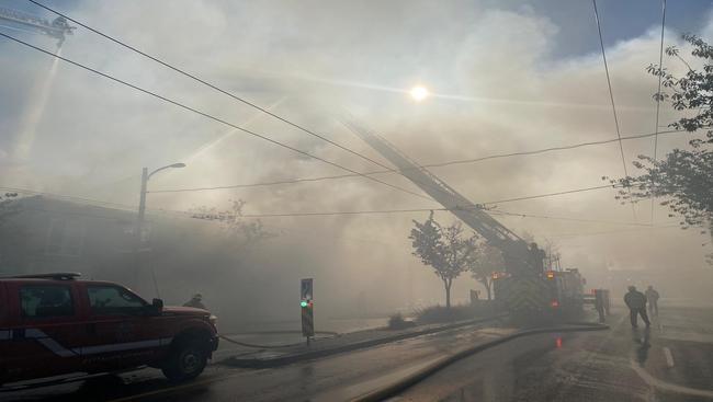 Vancouver Police investigate Mt. Pleasant neighborhood arson