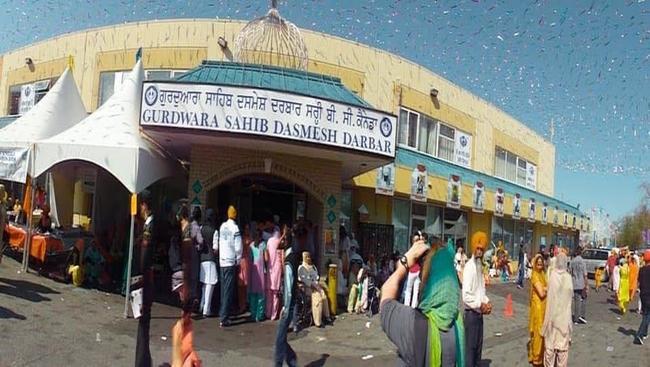 Surrey Gurdwara notifies the public of possible COVID19 outbreak via social media