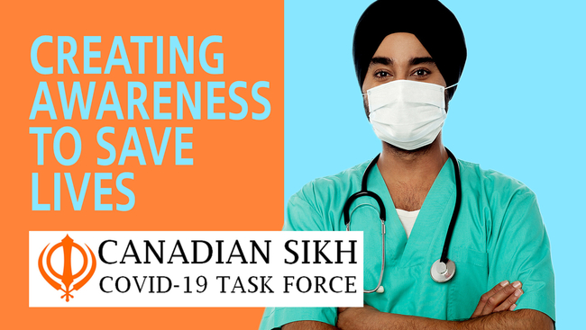 WATCH: The Canadian Sikh COVID Task Force has been formed to create more awareness about the COVID19 pandemic