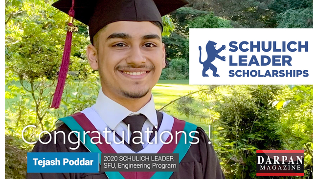 Surrey high school graduate wins the Schulich scholarship valued at $100,000