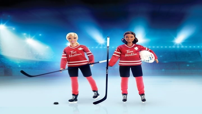 Tim Hortons rushes roll out of Black hockey Barbie
