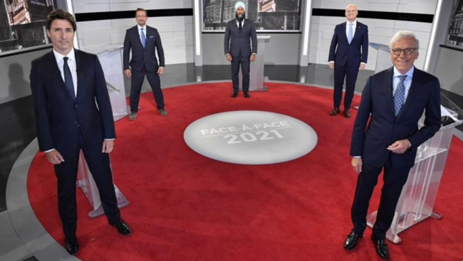 O'Toole, Singh target Trudeau over election call