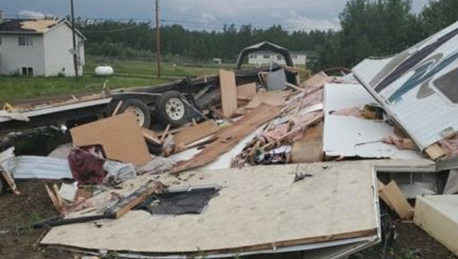 Cleanup begins after Barrie twister