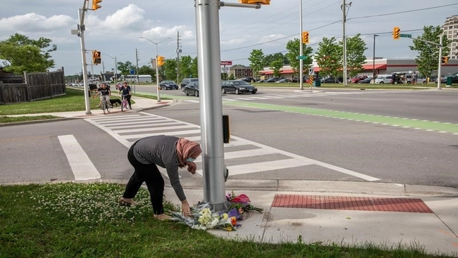 Man accused in killing of London, Ont., family told cab driver to call police