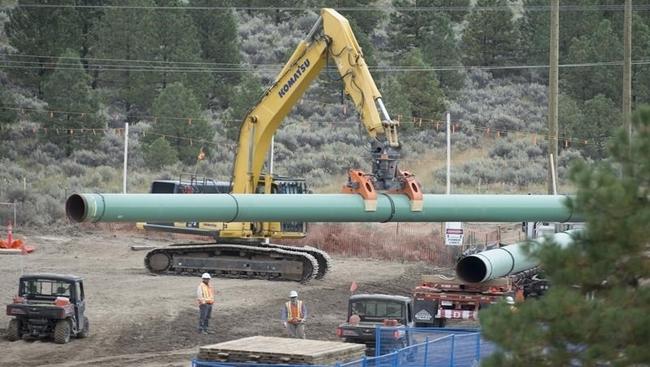 Regulator lifts Trans Mountain stop-work order