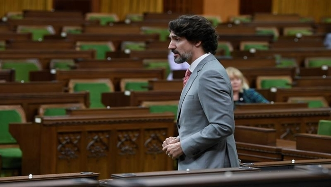 Trudeau says citizens should wear masks to stave off second COVID-19 wave