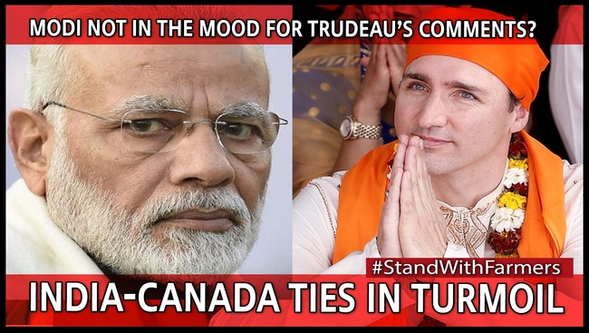 Trudeau brushes off India's criticism on farmers