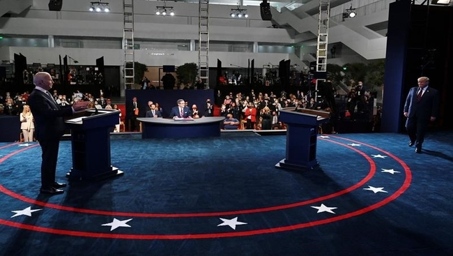 Here we go again: Trump, Biden reprise debate duel