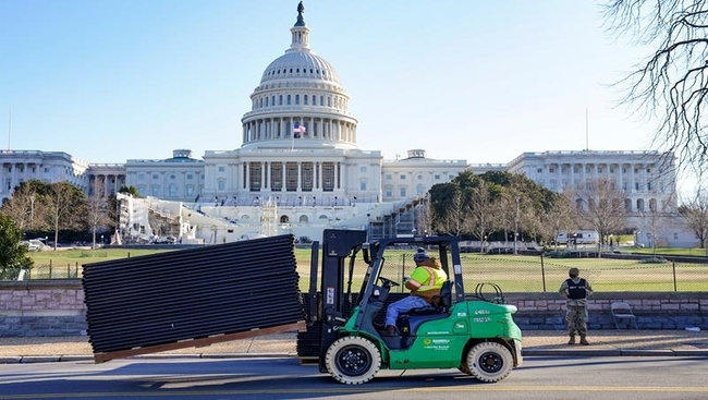 Uneasy calm settles on Capitol after day of chaos
