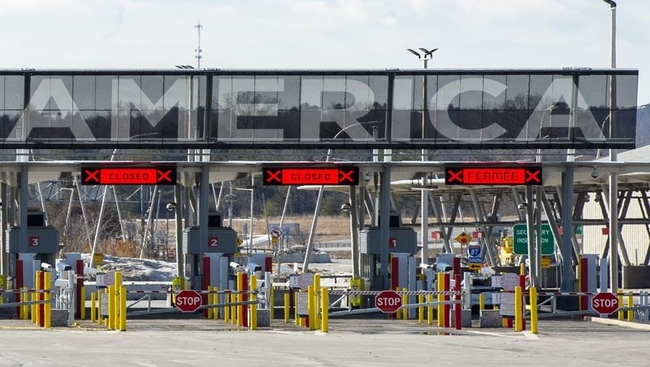 U.S. border closure extended to Oct. 21