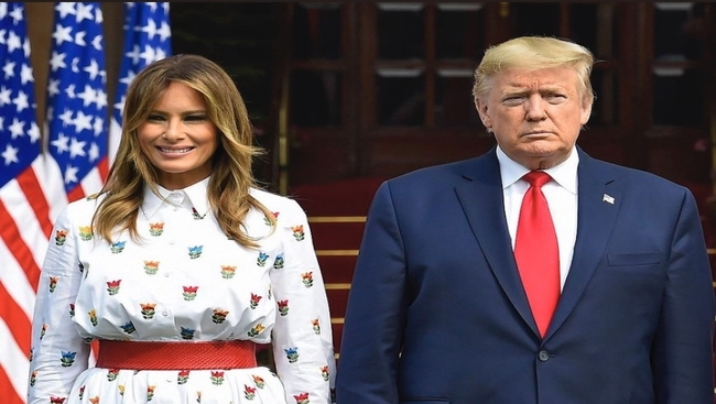 US President Donald Trump and wife Melania Trump test positive for COVID19
