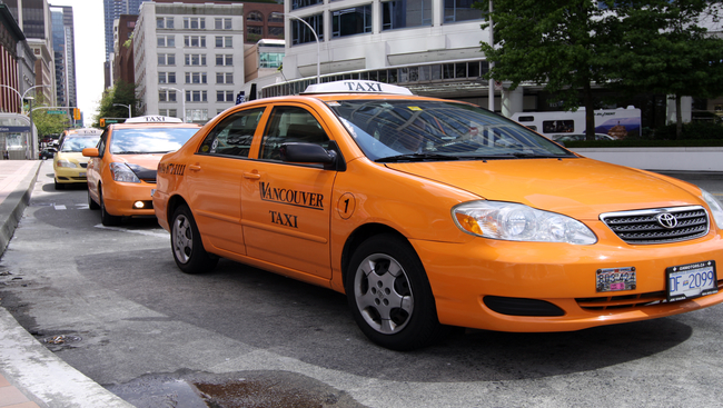 Vancouver Taxi Association is all for the BCNDP this election